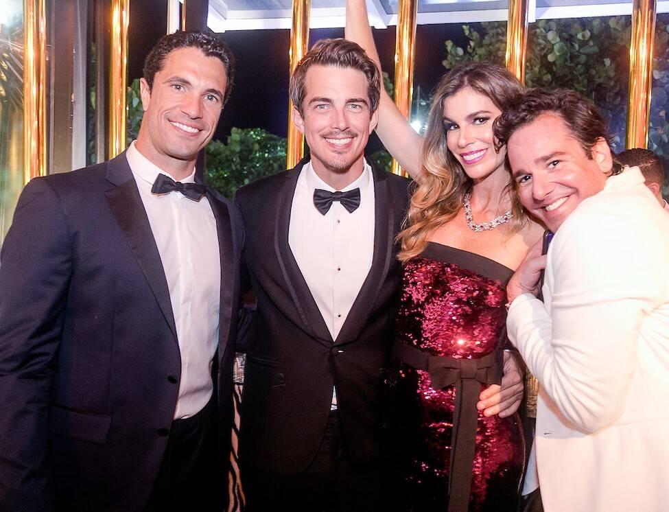 Flavio Sarahyba, Cristopher Seaside, Cris Pitanguy e Tiago Senna /Foto: MS Fotos