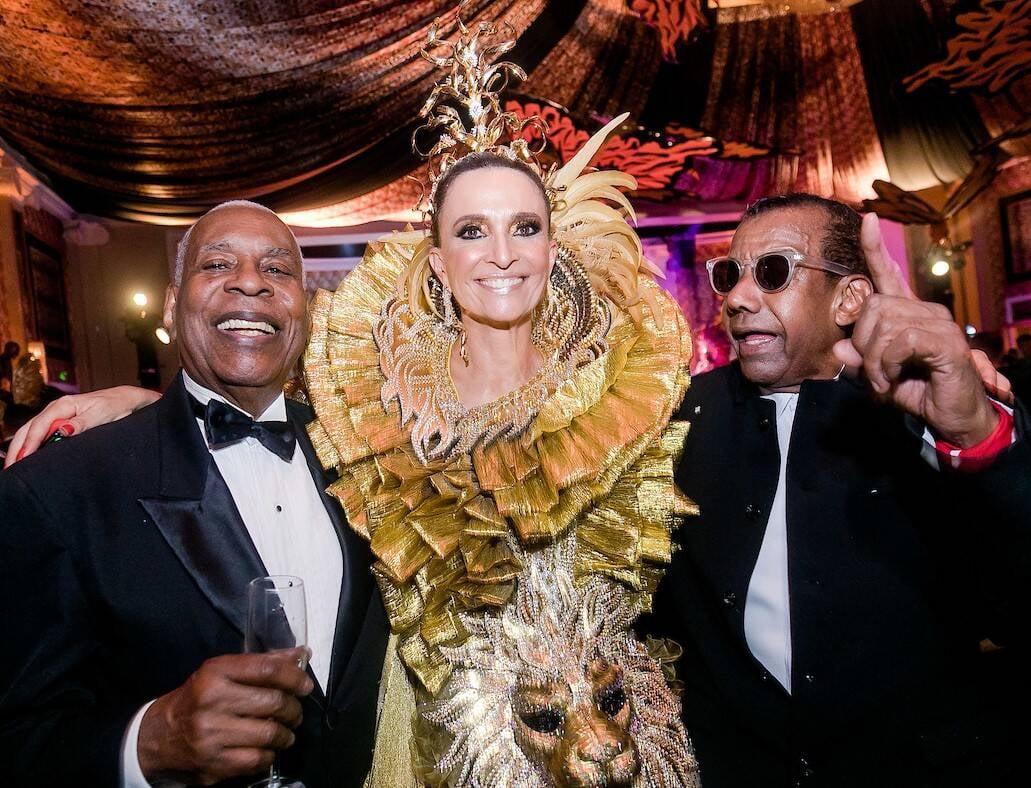 Haroldo Costa, Andrea Natal e Jorge Benjor /Foto: MS Fotos