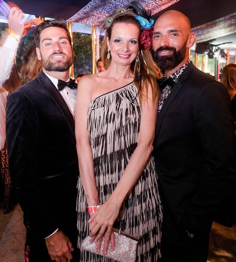 Juan Andres Grizutti, Leandra Lacerda e Luciano Lucca /Foto: MS Fotos