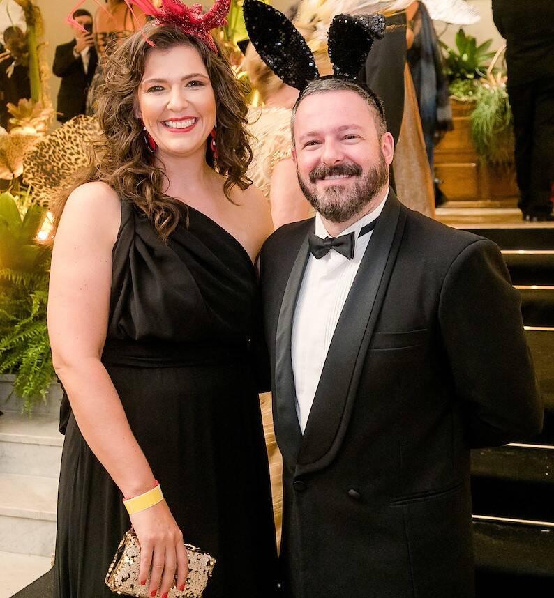 Laura Castagnini e Santiago Ramos /Foto: MS Fotos