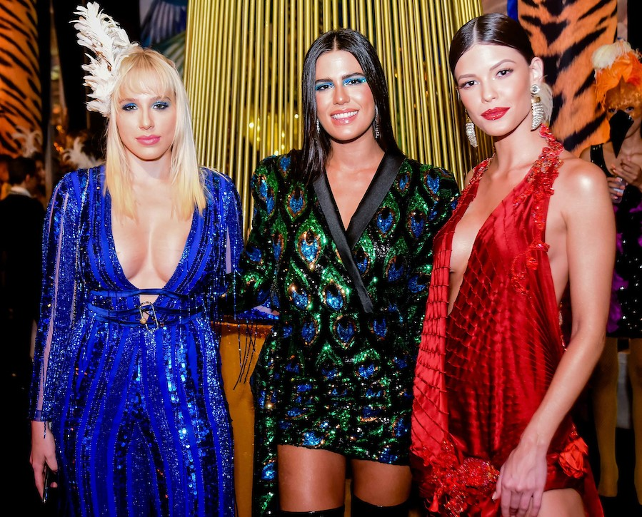Marcella Rica, Antonia Morais e Vitoria Strada /Foto: MS Fotos