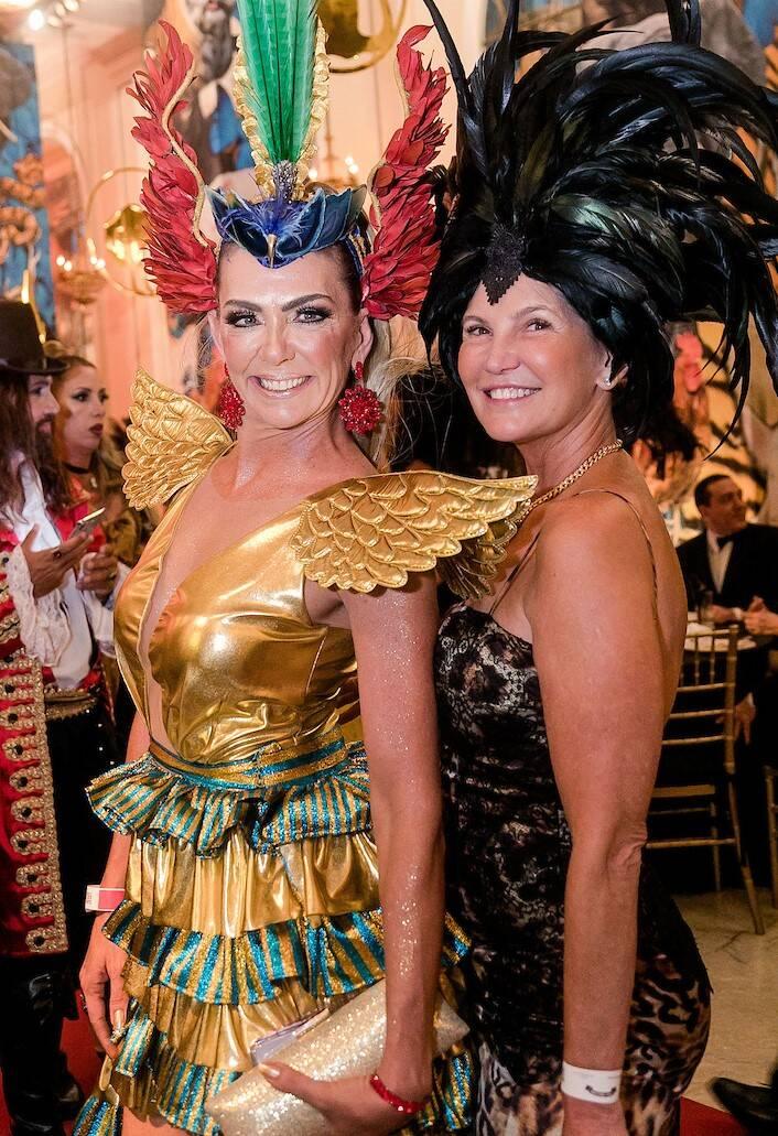 Marcia Verissimo e Karina Vasilkowsky /Foto: MS Fotos