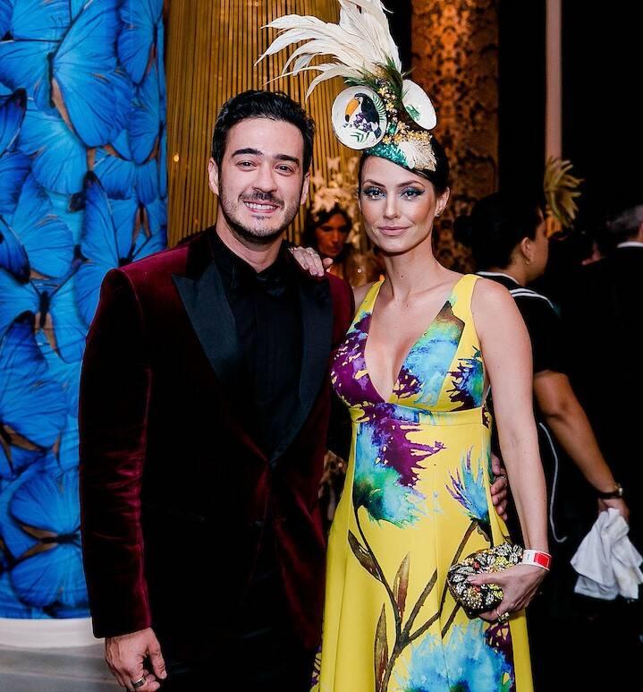 Marcos Veras e Rosanne Mullholland /Foto: MS Fotos