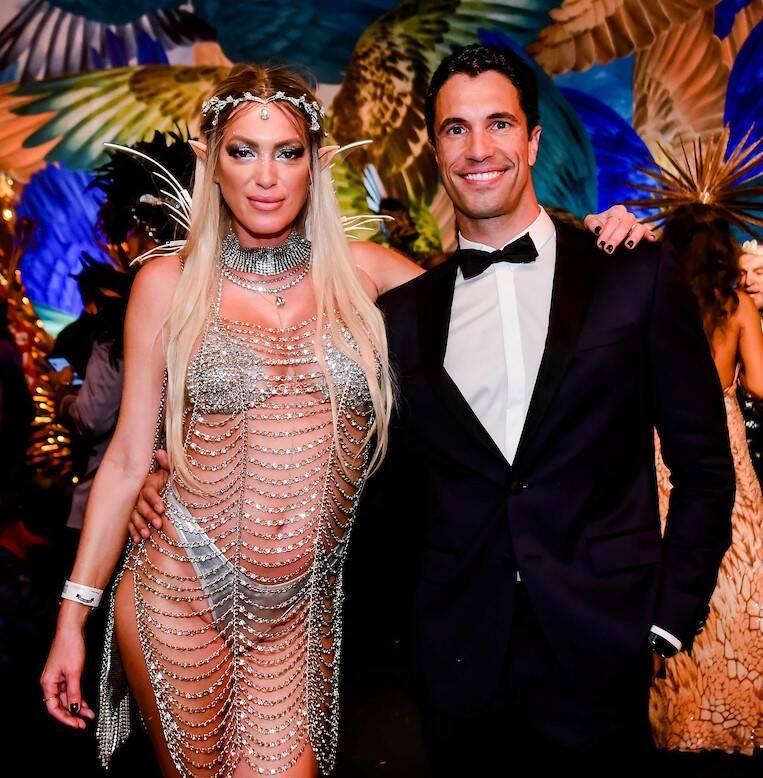 Michelle Buback e Flavio Sarahyba /Foto: MS Fotos
