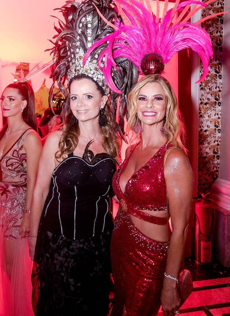 Priscila Bentes e Carla Pimentel /Foto: MS Fotos