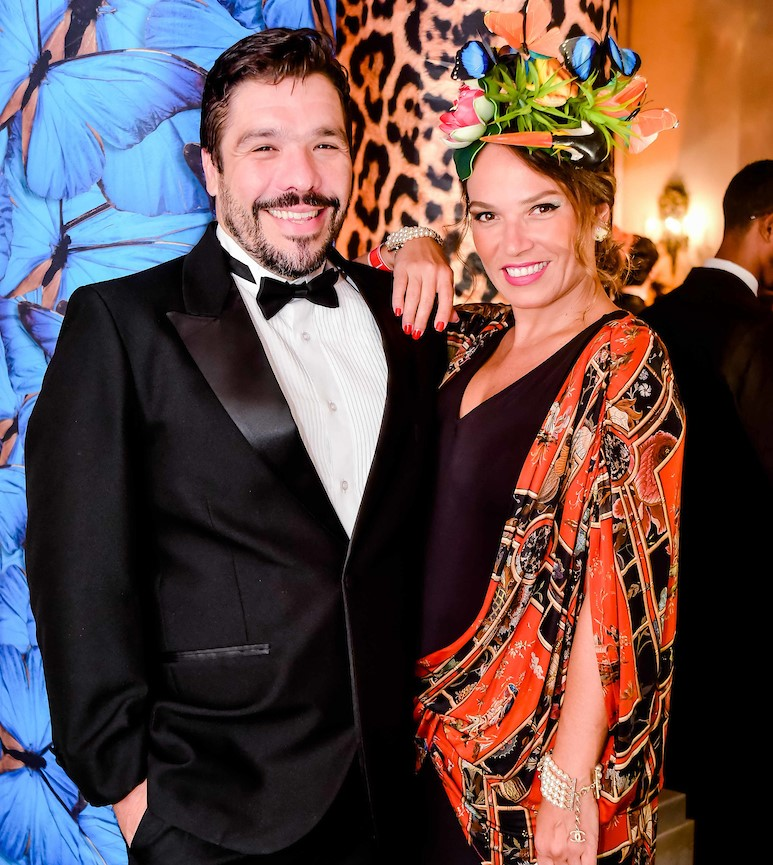 Rodrigo Zenga e Marina Caruso /Foto: MS Fotos