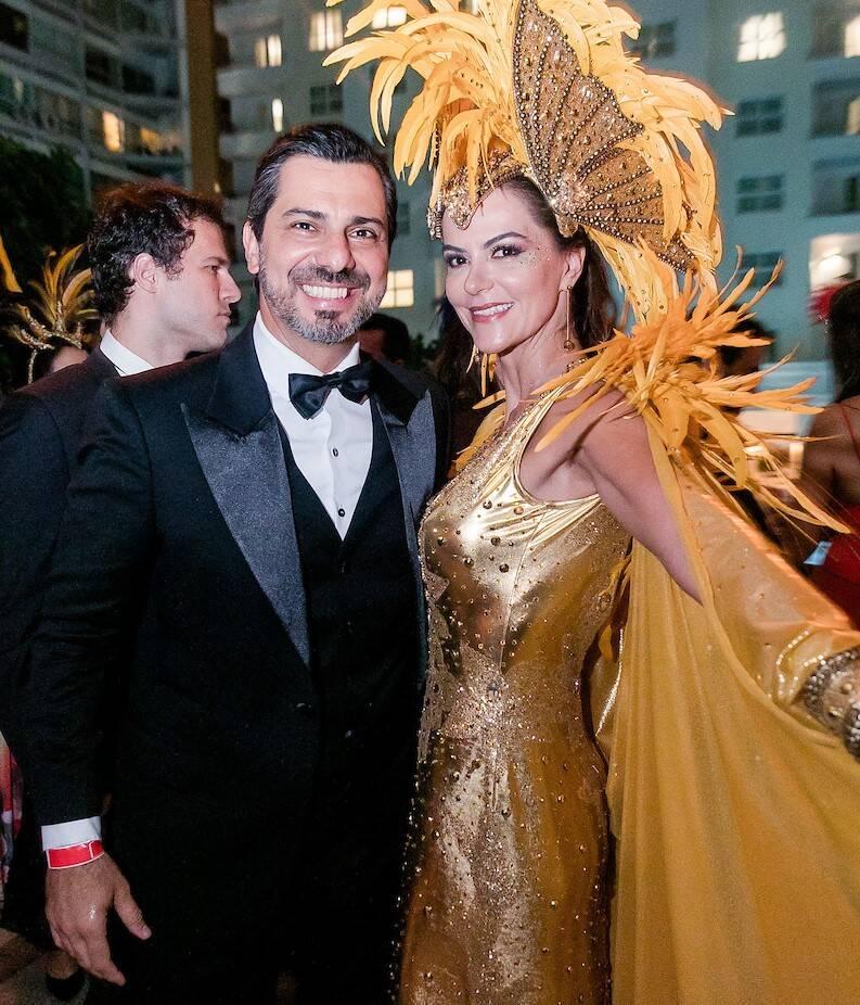 Rodrigo Lovatti e Sheila Lustoza /Foto: MS Fotos