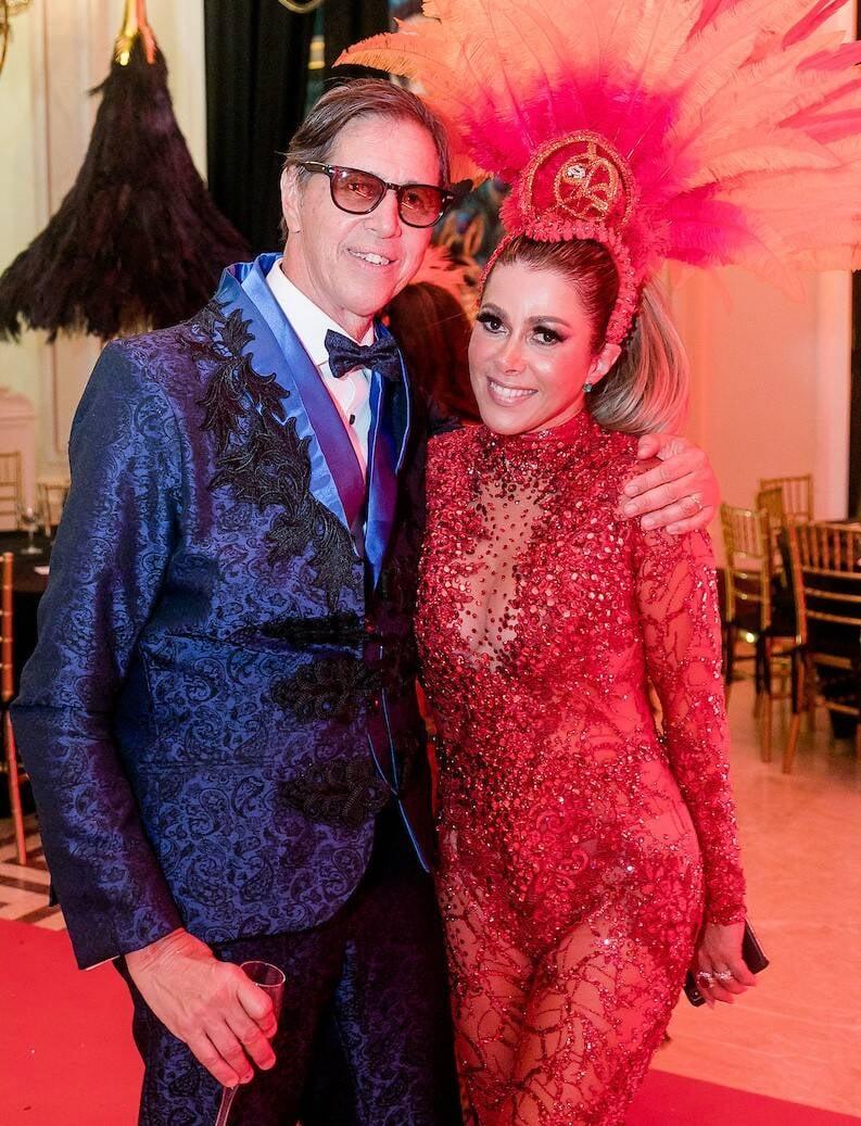 Saul Sabba e Claudia Martinez /Foto: MS Fotos