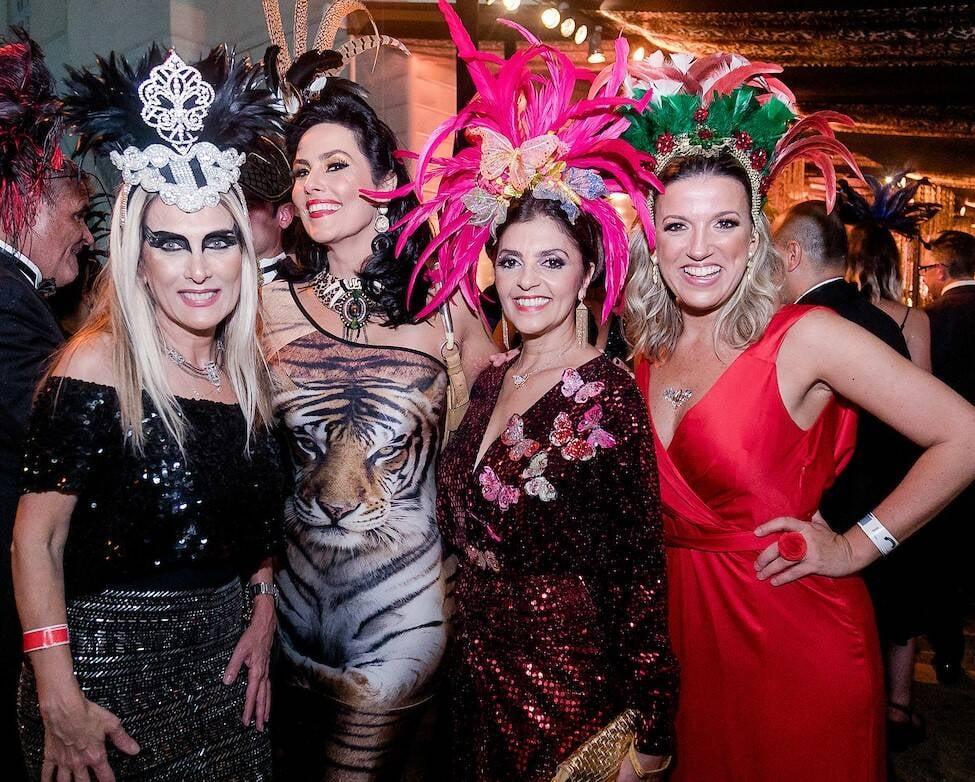 Shirley Sobtika, Adriana Almeida, Ana Cristina Villaca e Clarissa Desterro /Foto: MS Fotos