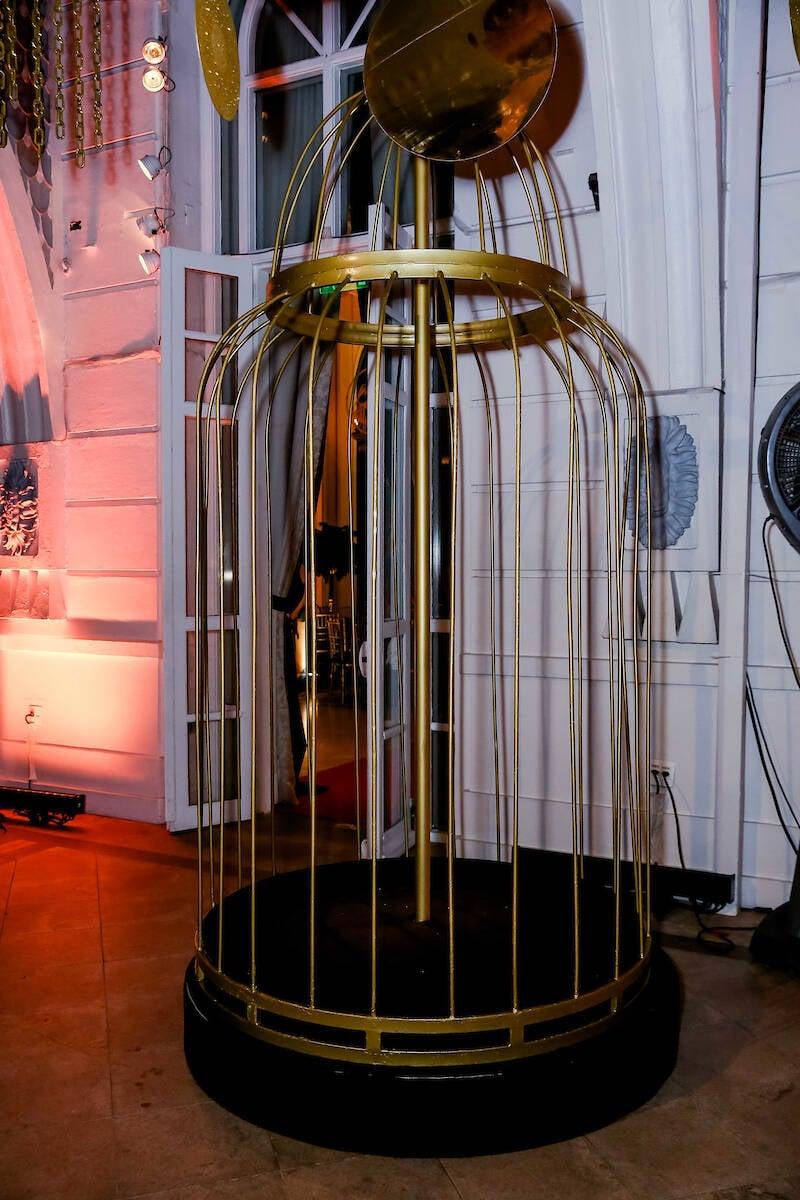 A gaiola fez um sucesso danado /Foto: MS Fotos