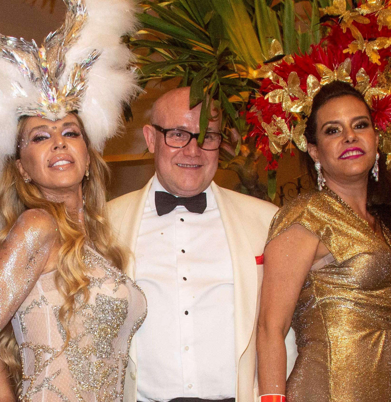 Nina Stevens, Paulo Müller e Narcisa Tamborindeguy /Foto: Veronica Pontes