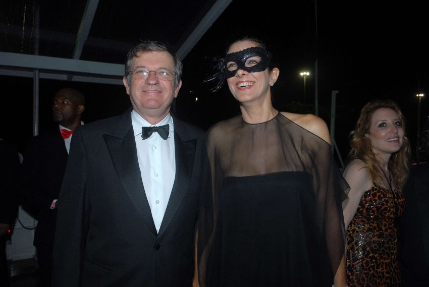François Perrin e Bebel Sued
