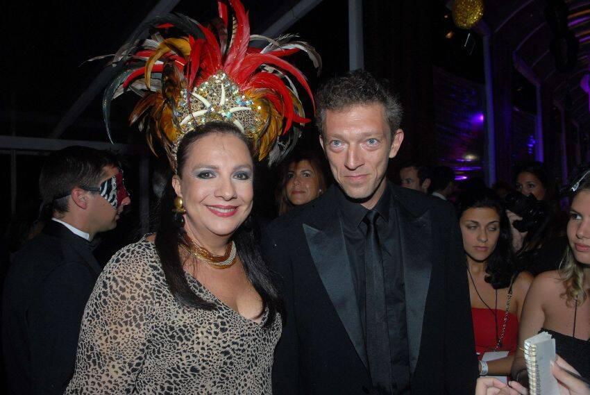 Claudia Fialho e Vincent Cassel