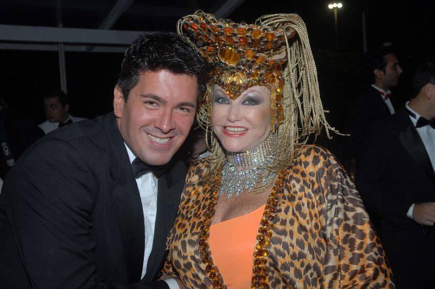 André Ramos e Linda Conde