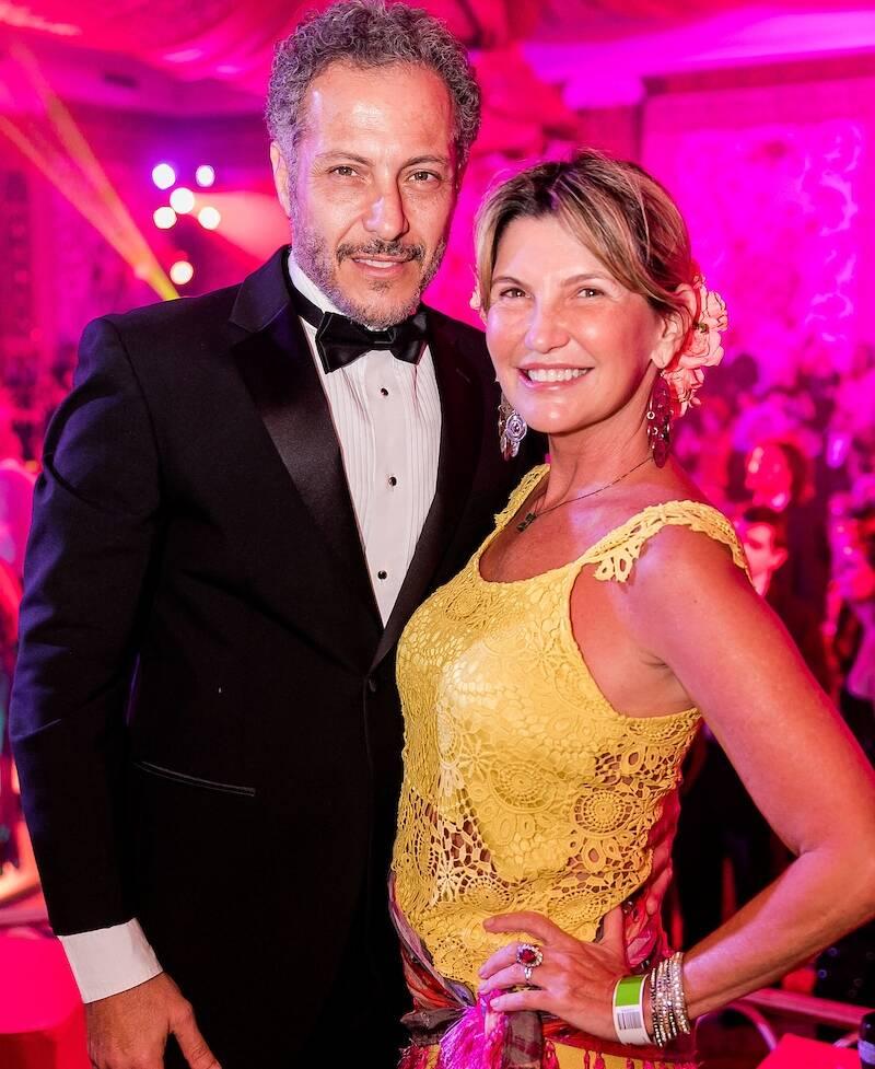 Mario Rebehy e Karina Vasilcowsky