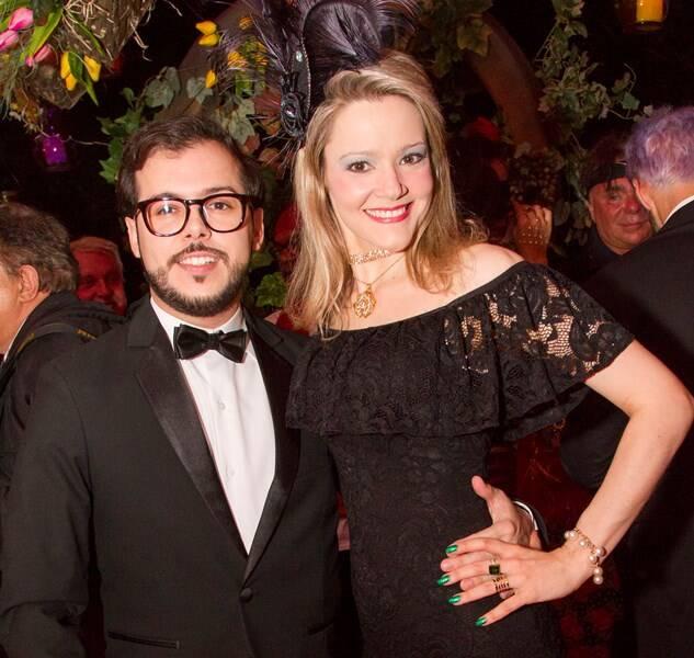 Felipe Braga e Roberta Fonseca