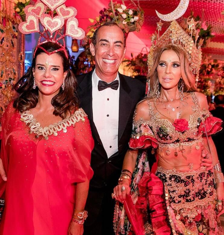 Narcisa Tamborindeguy, Hassan Kadiri e Nina Stevens