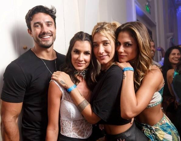 Lucas Gil, Tatiana Betin, Gabriela Pugliesi e Mari Gonzales