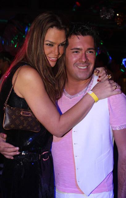 Alessandra Arnaud com Andre Ramos
