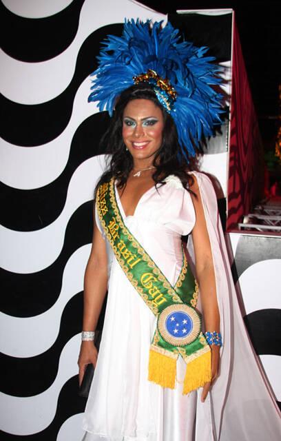Ava Simóes, a Miss Brasil Gay