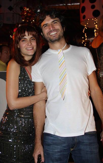 Isabel Santos e Geraldo Thomas