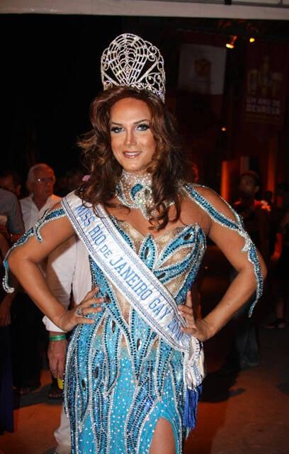 A Miss Gay Rio de Janeiro, Malu Pinheiro