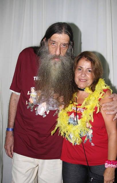 Nelson Rodrigues Filho e Heloísa Montezuma