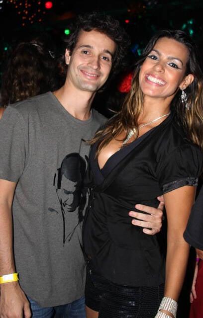 Roberto Medina e Lívia Rossi