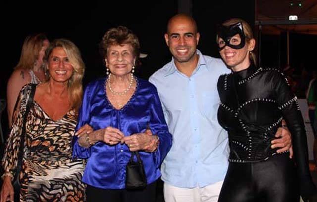 Rosane Polito, Edyala Santo Domingo, Yan Saguez e Flávia Miranda
