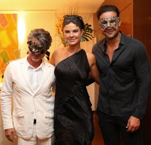 Nicolas Martin Ferreira, Letícia Birkheuer e Sérgio Marone
