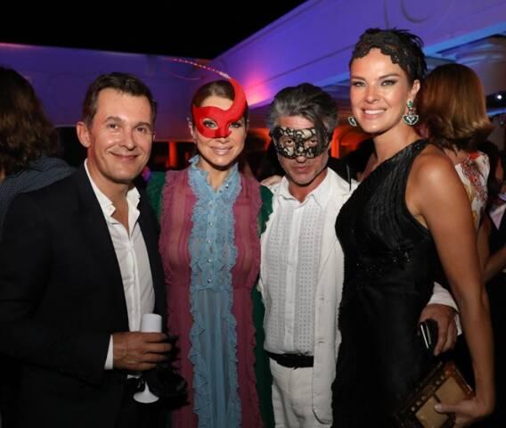 Brice Roquefeuil, Letícia Spiller, Nicolas Martin Ferreira e Letícia Birkheuer