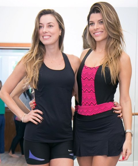 Fabiola Cabral e Michele Pin