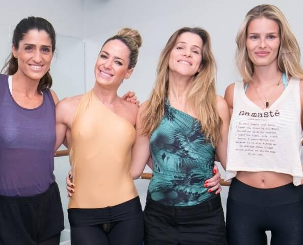 Cynthia Howlett, Betina Dantas, Ingrid Guimarães e Yasmin Brunet