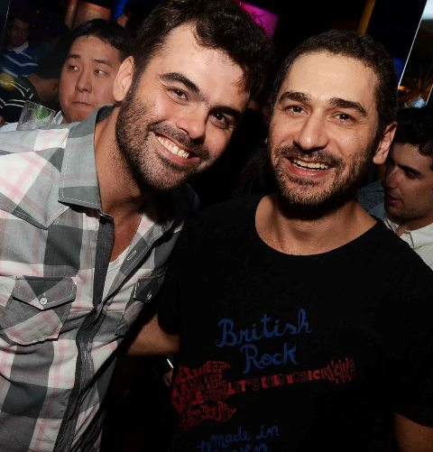 Carlos Castro e Elias Abifadel