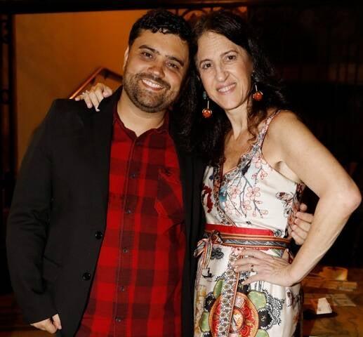 Flávio Pinheiro e Aniela Jordan