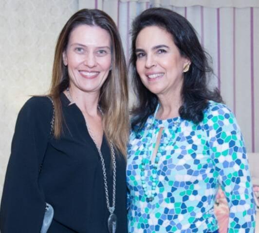 Gilda Tostes e Joy Garrido