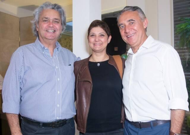 Pedro Paranaguá, Fernanda Pessoa de Queiroz e Zeco Beraldin