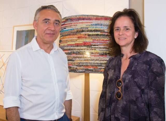 Zeco Beraldin e Patrícia Quentel
