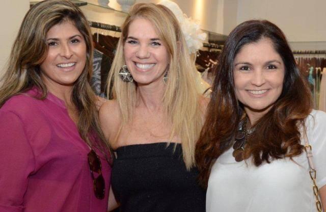 Jacqueline Nanni, Nelia Oliveira e Bia Loyo