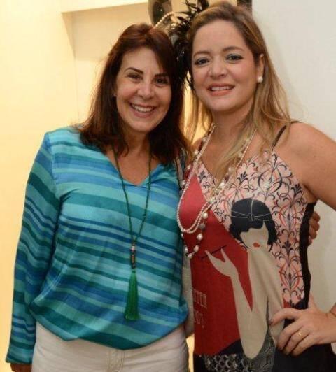 Lucia Nogueira e Bianca Gibbon