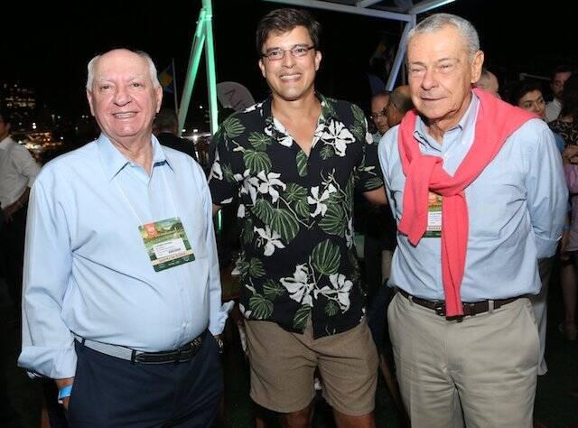 Ademar Pinheiro Silva, Francisco Loffredi e Celso Quintela