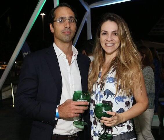 Felipe Bittencourt e Fernanda Torres
