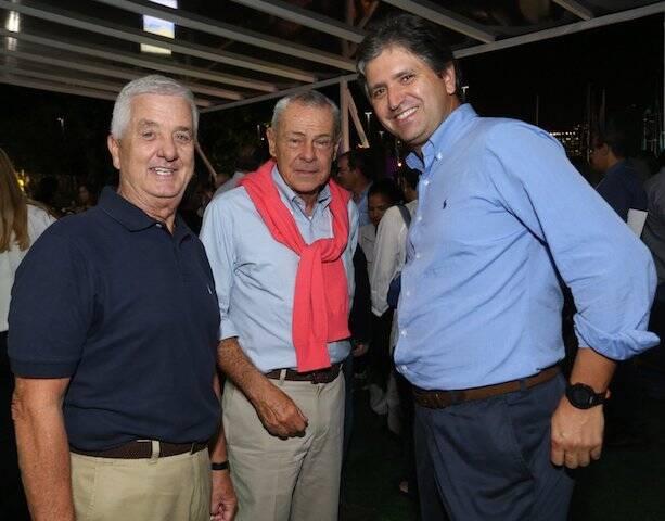Francisco Vieira Coelho, Celso Quintela e Sérgio Brandão