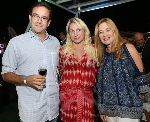 Gustavo Gama, Vanessa Gama e Denise Lobato