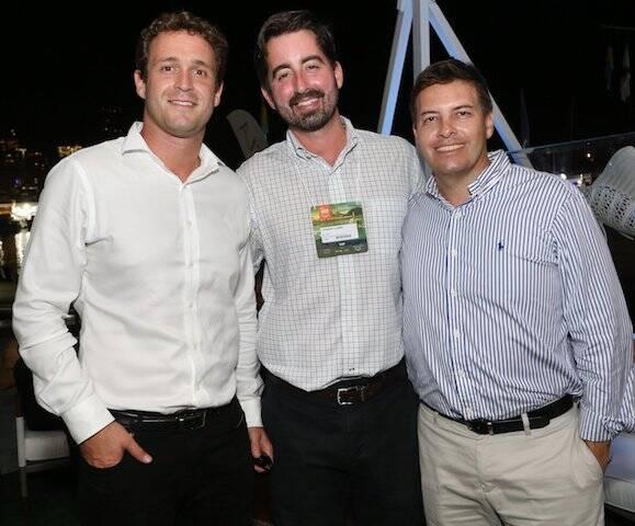 João Kossman, Leonardo Alemam e Marcelo Marques