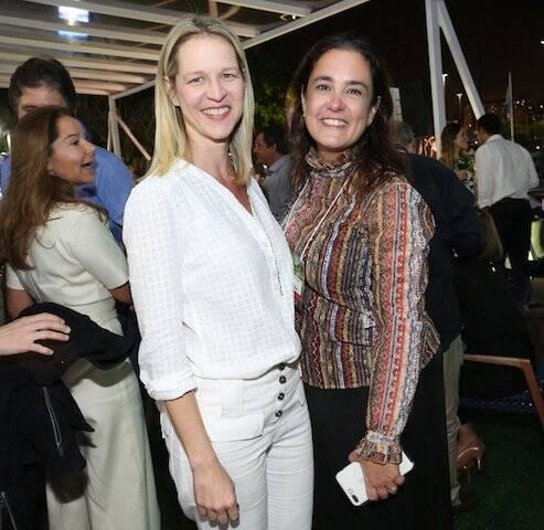 Vânia Rebel e Gabriela Lobato