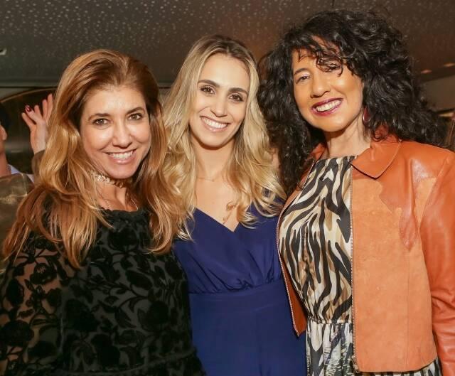 Gorete Colaço,  Daniella Santos e Bianca Teixeira