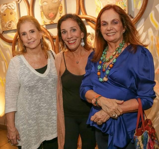 Madeleine Saade, Alicinha Silveira e Elaine Stambowsky