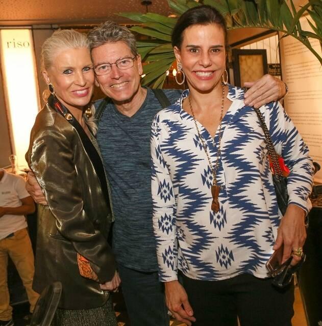 Marie Annick, Fernando Bicudo e Narcisa Tamborindeguy