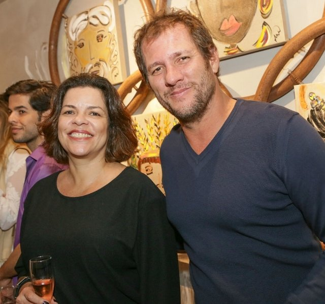 Vanessa Rocha e Bruno Schmidt